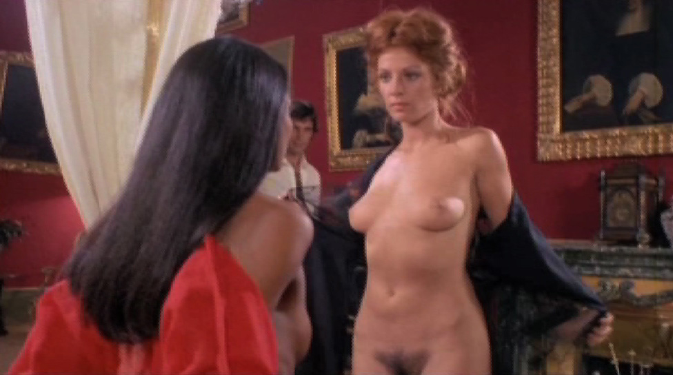 Laura Gemser and Paola Senatore naked from Emanuelle in America