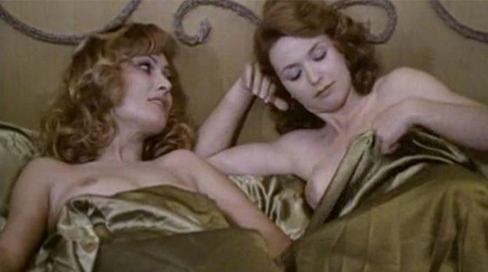 Malisa Longo and Patrizia Gori naked from Helga, She Wolf of Spilberg