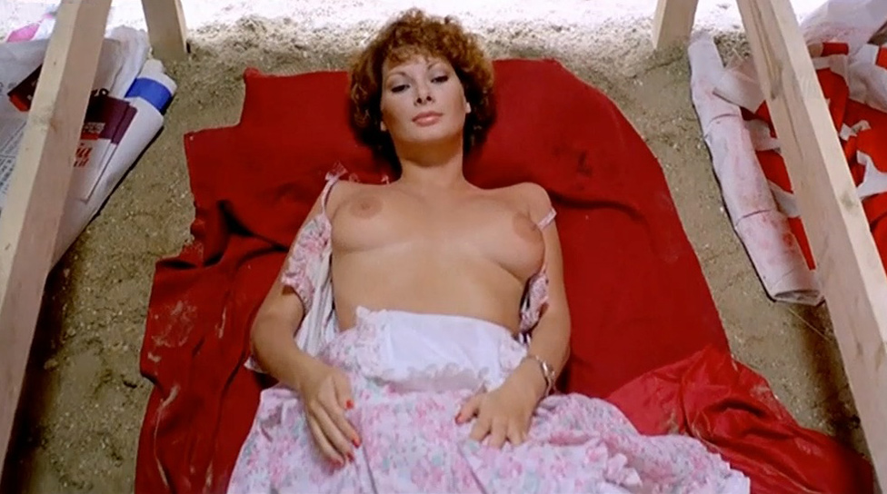 Edwige Fenech naked from Hot Potato