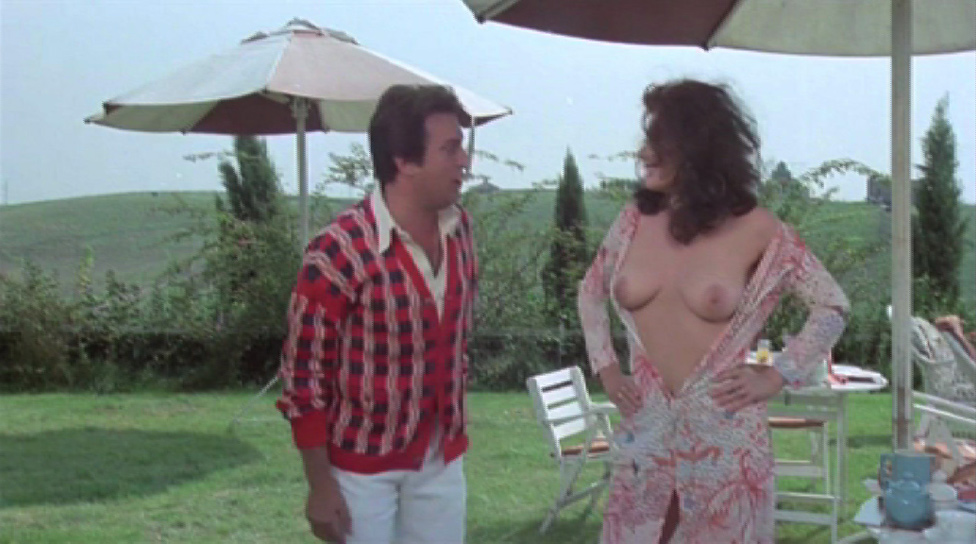 Edwige Fenech naked from The Virgo, the Taurus and the Capricorn