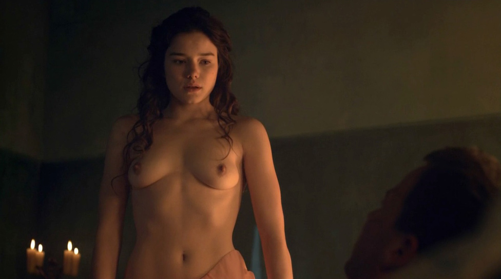 Hanna Mangan Lawrence naked from Spartacus: Vengeance