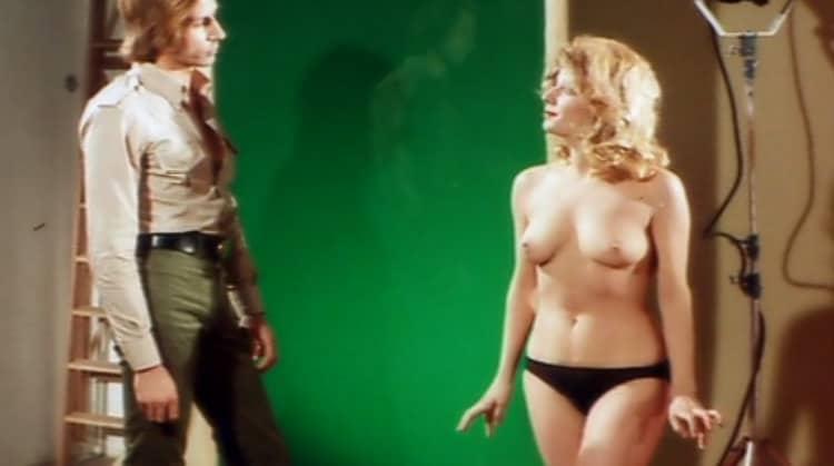 The Crimes of the Black Cat nude scenes