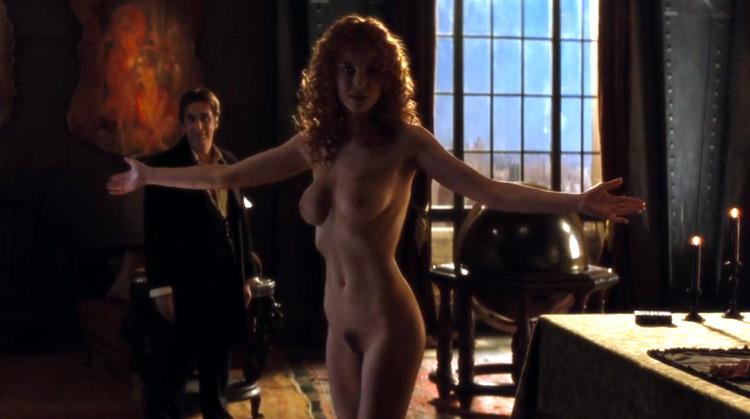 The Devil's Advocate nude scenes