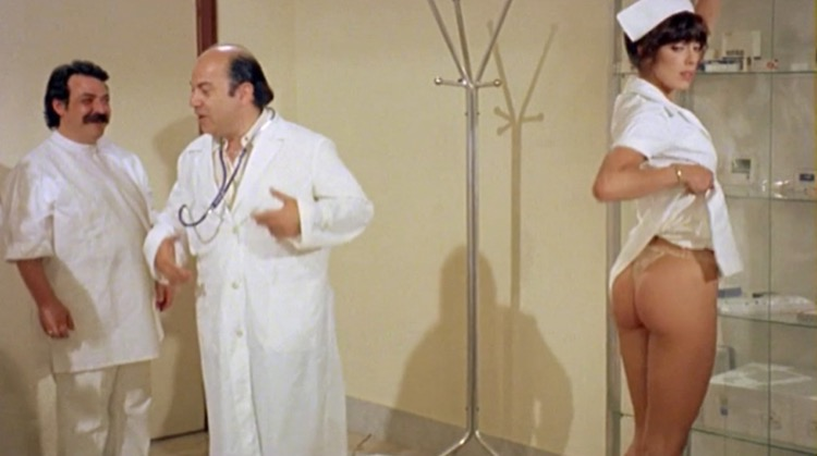 The Nurse in the Military Madhouse nude scenes