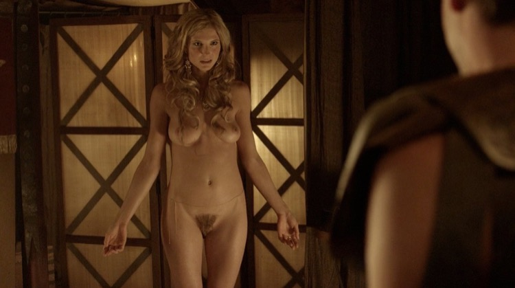 Spartacus: Blood and Sand nude scenes