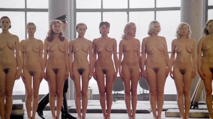Salon Kitty nude scenes