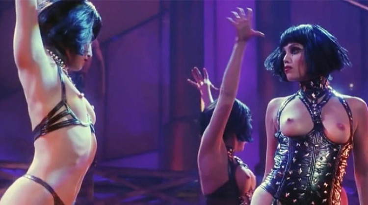 Showgirls nude scenes