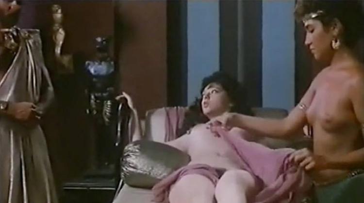 The Erotic Dreams of Cleopatra nude scenes