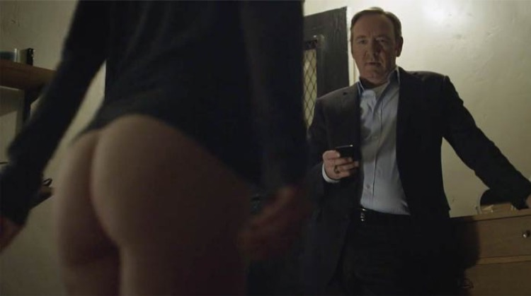 House of Cards [Season 1] nude scenes