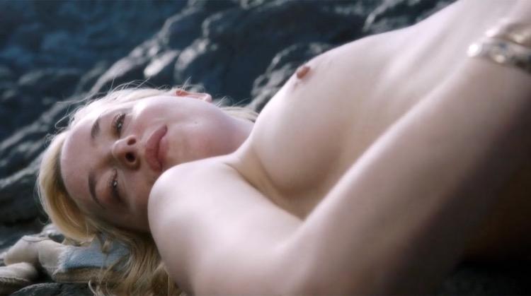 A Bigger Splash nude scenes