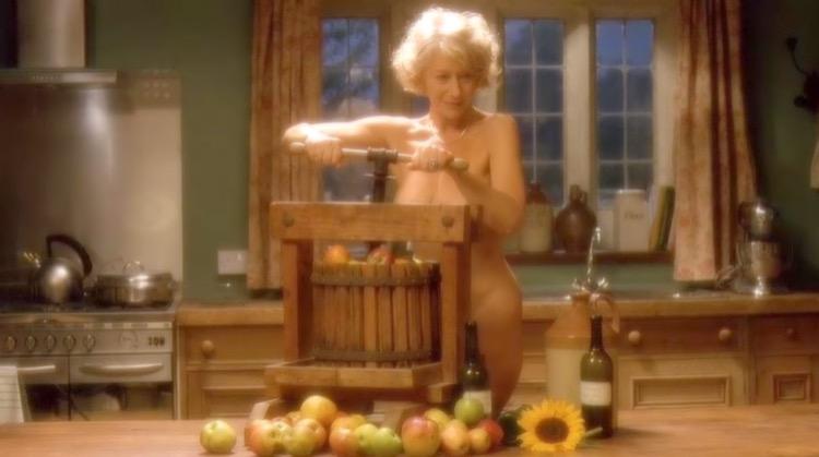 Calendar Girls nude scenes