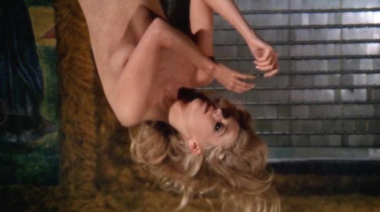 Barbarella nude scenes