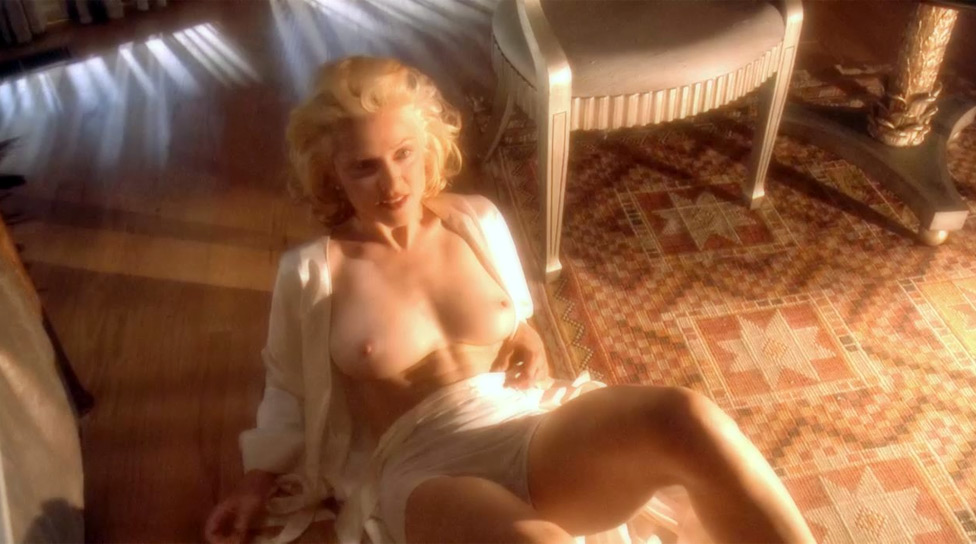 Body of Evidence nude scenes