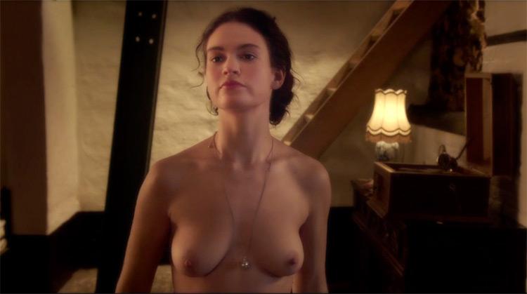 The Exception nude scenes