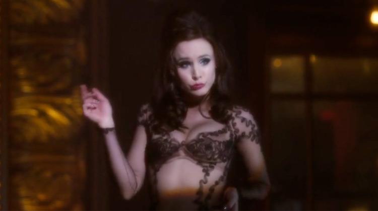 Burlesque nude scenes