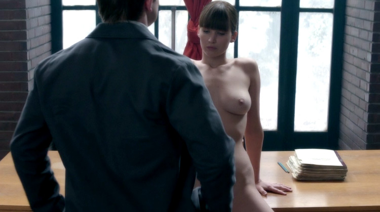 Red Sparrow nude scenes