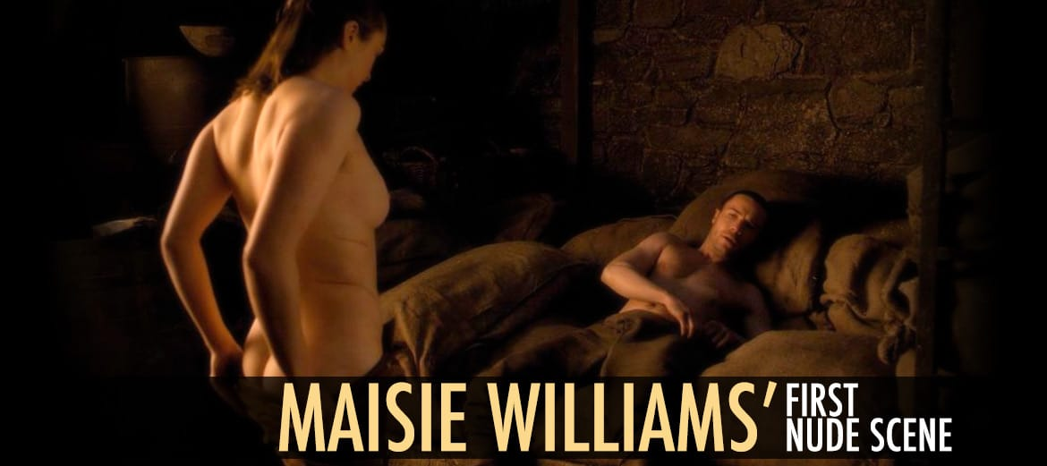 Maisie Williams First Nude Scene