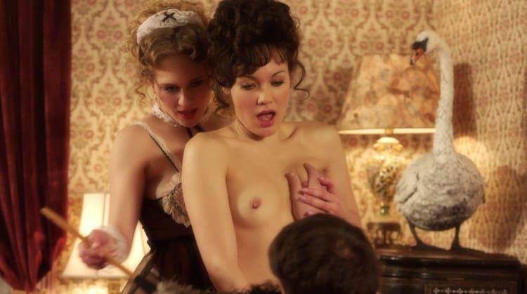 carrie Kim Katrina Cunningham Threesome The Deuce Season 3